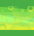 vibrant green and yellow minimal abstract vector image vector image