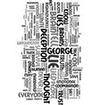 would george w ever tell a lie text word cloud vector image