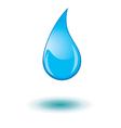 water drop s vector image
