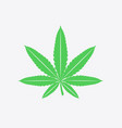 cannabis leaf sign symbol vector image