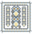 Set of seamless ornamented borders based on vector image vector image