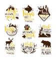 Alaska National Park Promo Signs Series Of