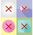 service flat icons 04 vector image vector image