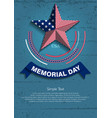 memorial day7 vector image