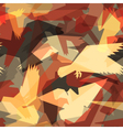 Abstract bird tile vector | Price: 1 Credit (USD $1)