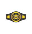 boxing belt champion logo icon