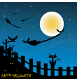 halloween graphic vector image vector image
