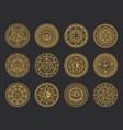 magic symbols alchemy occult esoteric signs vector image