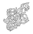 Paisley ethnic ornament
