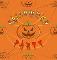 pattern 0084 1 halloween party vector image vector image