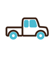 Pickup truck icon Farm vector image