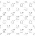 sleeping boy icon outline style vector image vector image