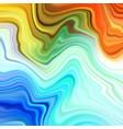 warped lines colorful background modern vector image vector image