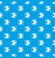 advice chat pattern seamless blue vector image vector image