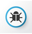 bug icon symbol premium quality isolated virus vector image