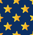 cute seamless pattern tiling made stars star vector image