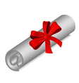 Email roll vector image