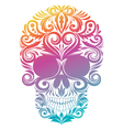 Floral Decorative Skull