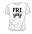 Friyay Brush lettering vector image