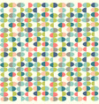 retro seamless pattern abstract easter eggs vector image vector image