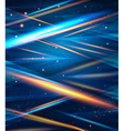 Blue elegant template for your business vector image