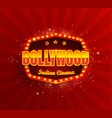 bollywood indian cinema film banner vector image