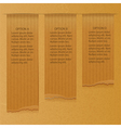 brownpaper infographic background vector image vector image