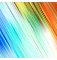 colorful shine brush strokes background vector image vector image