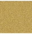 Gold sparkly glitter background EPS 10 vector image