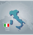 italy information map vector image vector image