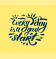 lettering quotes motivation for life and happiness vector image vector image