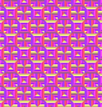 Pattern of colored rectangles vector image