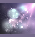 soft background with light and bokeh vector image
