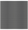 Square cell metal background vector image vector image