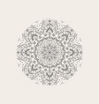 beautiful mandala vector image