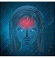 Cranial vector image vector image