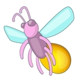 Firefly icon cartoon style vector image vector image
