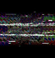 glitch television retro vhs background digital vector image