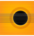 guitar sound hole background vector image