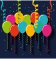 party celebration design vector image vector image