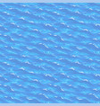 sea waves seamless pattern vector image vector image
