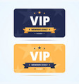 vip club cards vector image vector image