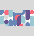 abstract retro style midcentury geometric vector image vector image