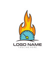 automotive and repair logo design and icon vector image