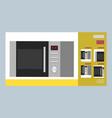 big discount on microwave kitten symbol vector image