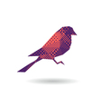 bird abstract isolated vector image vector image