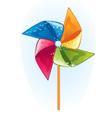 Cartoon windmill propeller vector image vector image