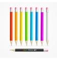 Color Pencil Set vector image vector image