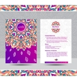 creative template for resume vector image vector image