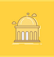 library school education learning university flat vector image